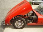 : Jaguar E-Type aangekomen bij Carrosserie Bril