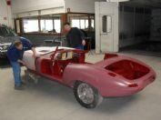: De wagen krijgt opnieuw vorm