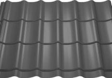 Dakpan plaat mat zwart op voorraad van 1.60 - 4.05m per 35 cm