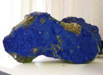 Azurite op malagite