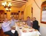 Lekkere hapjes en boeiende degustatie in het restaurant van Artur (Priorato)